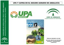 CONSEJERÍA DE AGRICULTURA, PESCA Y MEDIO