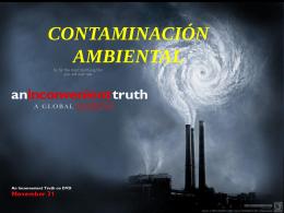 qué es la contaminación ambiental?
