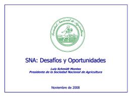 """""""Desafíos Medio Ambientales y de Calidad del Sector Agroindustrial"""