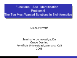 Introducción Metodologías Propuestas: Genómica Estructural
