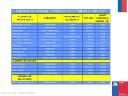 Diapositiva 1 - Ministerio de Bienes Nacionales