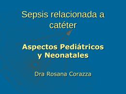 Sepsis relacionada a cateter