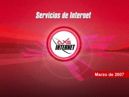 Principales aplicaciones del Internet