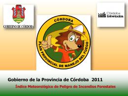 Indice Meteorologico de Peligro de Incendios Forestales