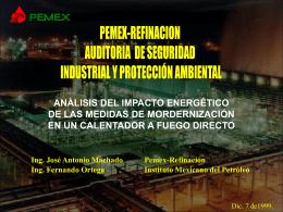 análisis del impacto energético de las medidas de mordernización