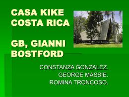 CASA KIKE COSTA RICA GB,