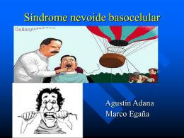 Síndrome nevoide basocelular