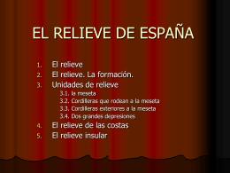 El relieve de España 3
