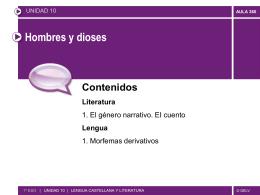cuento - Colegio Fuentelarreyna
