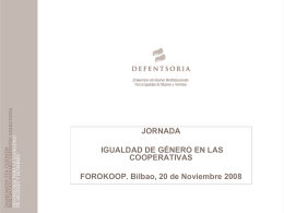 JORNADA FOROKOOP - BILBAO, 20 noviembre 08 (Microsoft