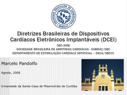 Diretrizes Brasileiras Para Implante de Cardioversores e
