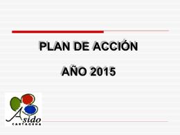 PLAN DE ACCIÓN 2015