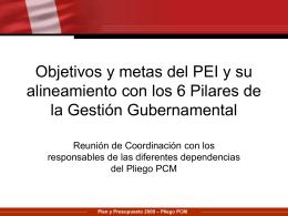 Diapositiva 1 - Intranet – Presidencia del Consejo de Ministros