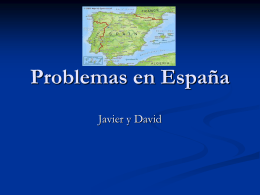 Problemas en España - Warren County Schools