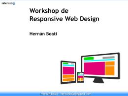 Diapos de la Unidad 1 - Responsive Web Design