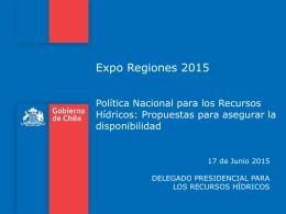 Presentación Expo Regiones Reinaldo Ruiz
