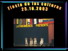 Latinoamerica presente 2003