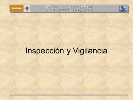 Programa Nacional de Inspección y Vigilancia