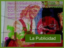La Publicidad - Colegio SS.CC. Manquehue