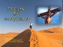 Pregón de Cuaresma - Alianza en Jesús por María