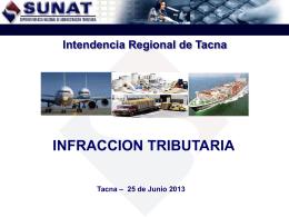 sunat-infraccion tributaria