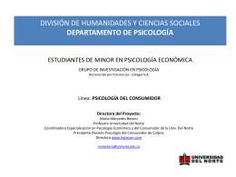 Diapositiva 1 - ASCOFAPSI - Asociación Colombiana de Facultades