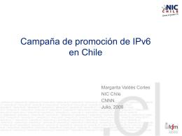 Campaña de promoción de IPv6 en Chile