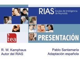 RIAS Presentación