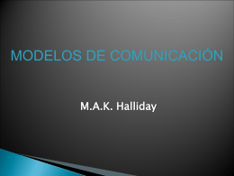 Halliday. - Linguistica General y aplicada