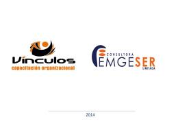 Dossier Presentación Consultora Emgeser OTEC Vinculos