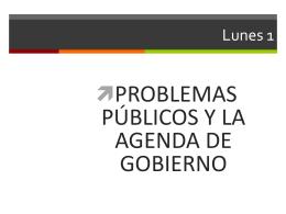 Los Problemas Públicos