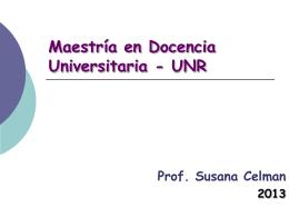 Maestría Doc Univ-UNR-Módulo III