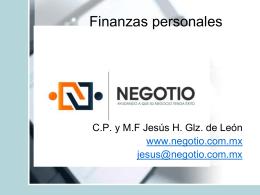 Finanzas personales 2015