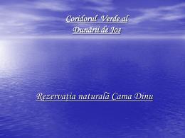 Rezervatia naturala Cama Dinu