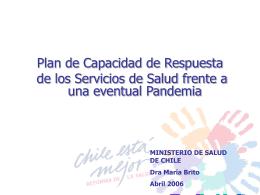 Día 2. Plan de Capacidad de Respuesta de Chile