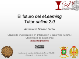 El futuro del eLearning Tutor online 2.0