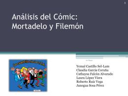 Análisis del Cómic: Mortadelo y Filemón