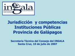 ingala - Sistema Nacional de Información