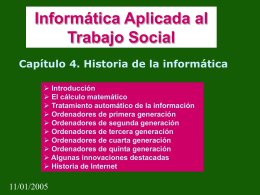 Resumen del capítulo en Power Point