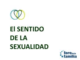 El sentido de la sexualidad v.3