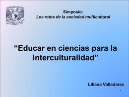 """""""Relativizando el lugar y el sentido de la educación científica: una"""
