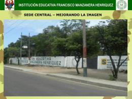 Diapositiva 1 - institución educativa tecnica francisco manzanera