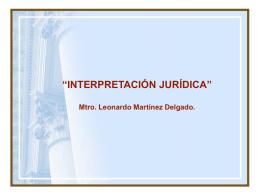 Interpretación - Poder Judicial