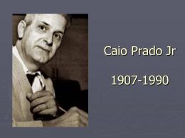 Caio_Prado_Jr - Acadêmico de Direito da FGV