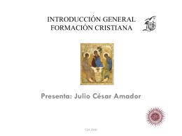 INTRODUCCIÓN GENERAL - Portal Formacion Cristiana