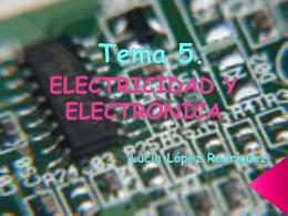 tema 5: electricidad. lucia mola