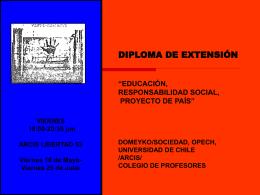 Presentación del Diplomad