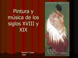 Ate y Música de los siglos XVIII y XIX