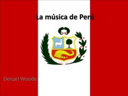 La música de Perú