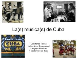 La(s) música(s) de Cuba